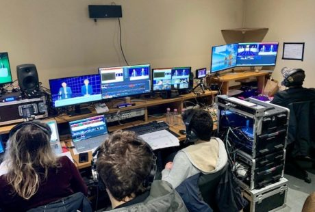 événement digital par Mondial Events aux studio centre-ville