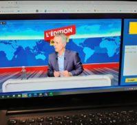 Philippe Montanay animant AKKA TV